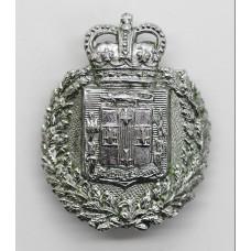 Jamaica Police Cap Badge - Queen's Crown