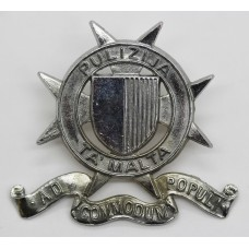 Malta Police Cap Badge