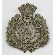 Guyana Police Cap Badge