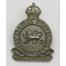 Surrey Special Constabulary Cap Badge - King's Crown