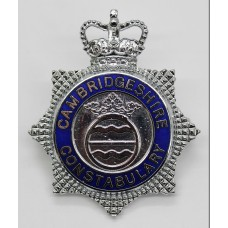 Cambridgeshire Constabulary Senior Officer's Enamelled Cap Badge