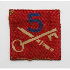 5th Infantry Brigade Cloth Formation Sign