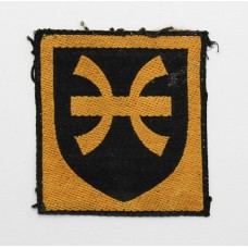12th Infantry Brigade Cloth Formation Sign