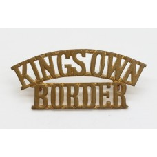 King's Own Royal Border Regiment (KING'S OWN/BORDER) Shoulder Title