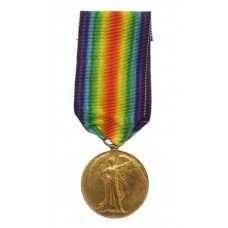WW1 Victory Medal - 2nd Captain W.H. Hudspeth MBE, Chinese Labour