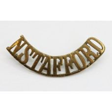 North Staffordshire Regiment (N.STAFFORD) Shoulder Title