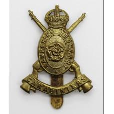 Hampshire Yeomanry Carabiniers Cap Badge - King's Crown