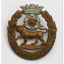Victorian/Edwardian York and Lancaster Regiment Cap Badge