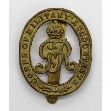 George V Corps of Military Accountants Cap Badge