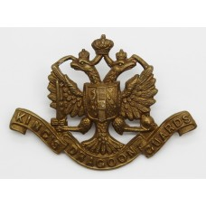 Victorian 1st King's Dragoon Guards Cap Badge