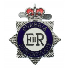 Cumbria Constabulary Enamelled Warrant Card Badge