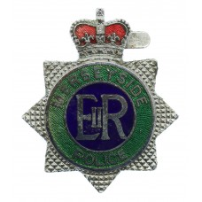 Merseyside Police Enamelled Warrant Card Badge