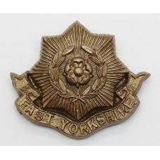 East Yorkshire Regiment WW2 Plastic Economy Cap Badge