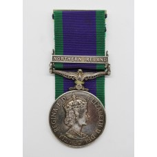 Campaign Service Medal (Clasp - Northern Ireland) - A.Cpl. R.G. Barbero, Royal Air Force