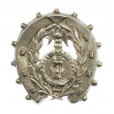 WWI 1st Royal Dragoons 1914 Hallmarked Silver Horseshoe Sweethear