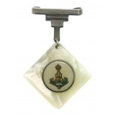 Yorkshire Regiment (Green Howards) Mother of Pearl Pendant Sweeth