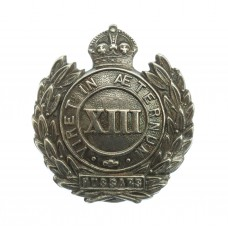 WWI 13th Hussars Sterling Silver Sweetheart Brooch