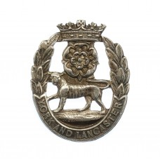 York & Lancaster Regiment Sterling Silver Sweetheart Brooch