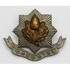 Edwardian Cheshire Regiment Cap Badge