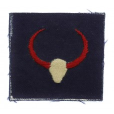 21st Indian Division/268th Infantry Brigade Cloth Formation Sign