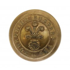 Yorkshire Hussars Yeomanry Officer's Button (Large)