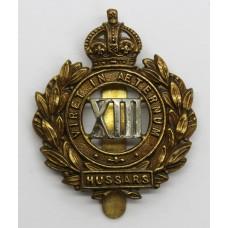 Edwardian 13th Hussars Cap Badge