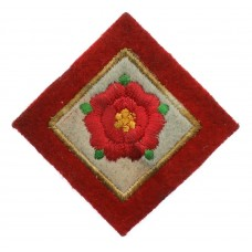 42nd (Lancashire) Division Cloth Formation Sign