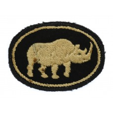 10th Armoured Division/25th Armoured Brigade Cloth Formation Sign