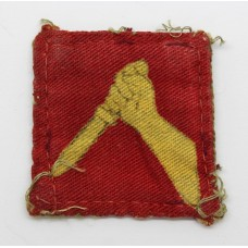 19th Indian Division Printed Formation Sign