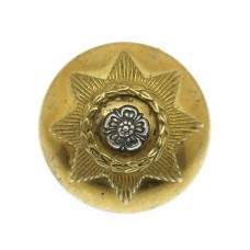 East Yorkshire Regiment Officer's Button (Large)