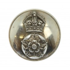 Yorkshire Dragoons Officer's Button - King's Crown (Large)