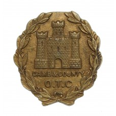 Cambridge & County School O.T.C. Cap Badge