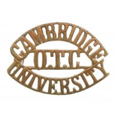 Cambridge University O.T.C. (CAMBRIDGE/OTC/UNIVERSITY) Shoulder Title