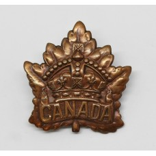 Canadian WW1 General Service Cap Badge