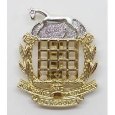 Berkshire & Westminster Dragoons Anodised (Staybrite) Cap Badge