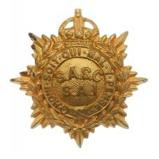 South African Service Corps (S.A.I.) Cap Badge - King's Crown (c.1926-1946)