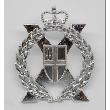 London Territorials Anodised (Staybrite) Cap Badge