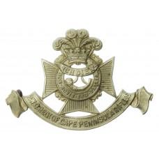 South African P.W.O. Regiment of Cape Penninsula Rifles Cap Badge (c.1904-1926)