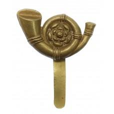 King's Own Yorkshire Light Infantry (K.O.Y.L.I.) WWI All Brass Cap Badge