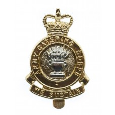Army Catering Corps Anodised (Staybrite) Cap Badge