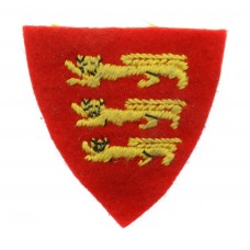 Force 135 (Channel Islands Liberation Force) Cloth Formation Sign