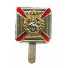 Duke of Edinburgh's Royal Regiment Anodised (Staybrite) Cap Badge