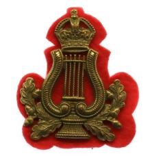 British Army Bandmaster's Musician Arm Badge - King's Crown