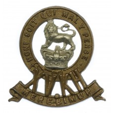 Victorian 15th King's Hussars Cap Badge