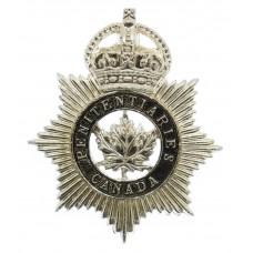Canadian Penitentiaries Canada Anodised (Staybrite) Cap Badge - K