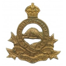 Royal  Canadian Army Pay Corps (R.C.A.P.C.) Collar Badge - King's Crown