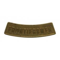 Legion of Frontiersmen Shoulder Title