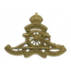 Canadian Field Artillery Cap Badge - King's Crown