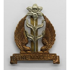 Mount St. Mary's College Spinkhill Derbyshire O.T.C. Cap Badge