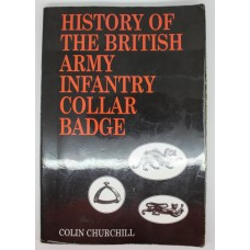 Book - History of the British Army Infantry Collar Badge